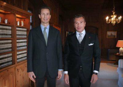 Dario Item Gallery Presentation of Credentials Liechtenstein